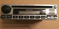 Subaru Weather Band Receiver Cassette CD Digital Audio P126 Not Tested JAPAN
