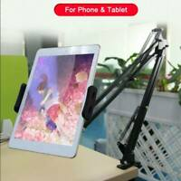 Flexible 360 Long Arm Lazy Holder Stand Mount Bracket iPad Mobile Cell Phone Bed