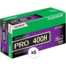Fujifilm Pro 400H Color Negative Film FRESH!!! - Pack of 5 USA DEALER!