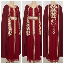 Moroccan Styled High End Takchita with Belt SIZE XX LARGE UK SIZE 24/26