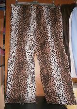 Pantalon motif léopard 2 JEAN-MARC PHILIPPE - Taille 8 (54/56) - COMME NEUF !!!
