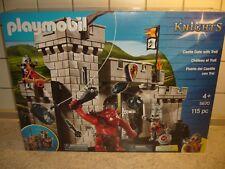 Playmobil 5670 Knights Burgtor mit Riesentroll Ritterburg Ritter Burg Prinz NEU