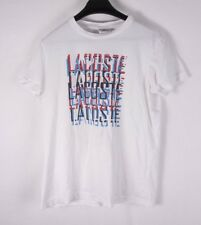 Lacoste T Shirt Graphic Size3 Medium *F0904