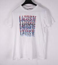 Lacoste T Shirt Graphic Size3 Medium *F0904