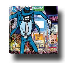 JIGEN lupin canvas  tela quadro  arredo design 40 cm x 40 cm   (bordo da 2 cm)