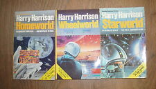 * 3 FANTASTIC TO THE STARS BOOKS by HARRY HARRISON * UK POST £3.25* PAPERBACK *