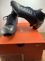 Nike Mercurial Superfly 6 Pro FG Black/Gold Men's size 9 Women's 10.5 AH7368-077