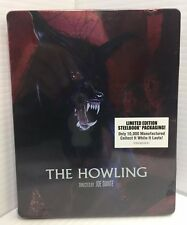 The Howling (Blu-ray Disc, 2018) Limited Edition Steelbook Factory Sealed!!!