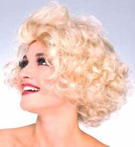 Hollywood Starlet MARILYN MONROE 1950s Womens Costume Wig