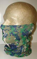 Digital Spring Green Marpat Camo Multi Function Headwear Balaclava