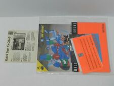 NEC Turbografx 16 TG16 System Pack SEALED Manual Booklet Instructions Turboplay