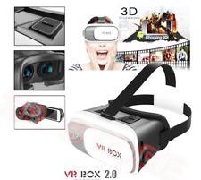 OCCHIALI VR BOX  REALTA' VIRTUALE 3D GIOCHI VIDEO FILM 360° PER IPHONE SAMSUNG