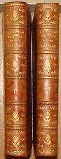 MARTURE. HISTOIRE DU PAYS CASTRAIS. 1822. 2 VOLUMES, RELIURE PLEIN VEAU. TARN.