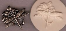Dragonfly & Flower Polymer Clay Push Mold 0 S/H Offer