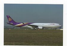 Thai International A330-343E at Toulouse Aviation Postcard, A637