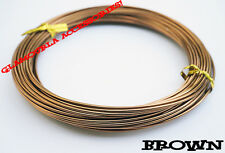 1mm 1.5mm Aluminum Wire Wrapping Craft Shaping Jewelry Bonsai 15 18 Gauge DIY