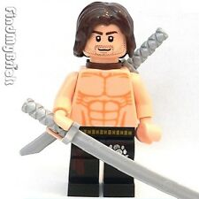 M537 Lego Prince of Persia Dastan Minifigure Shirtless Muscles Pattern 7570 NEW