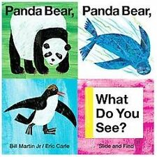 Panda Bear, Panda Bear, What Do You See? (Slide and Find)-ExLibrary