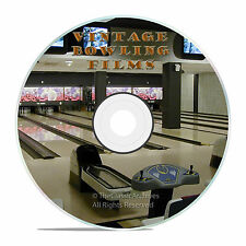 VINTAGE LEARN BOWLING HISTORY FILMS ON DVD, LET'S GO BOWLING 1950's -J52