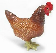 R250 - Northern Rose figurine - Rhode Island Red Hen
