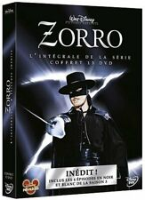 ZORRO Complete Classic Disney TV Series Seasons 1-3 Guy Williams DVD Box Set NEW