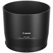Canon lens hood ET-74B for EF70-300mm F4-5.6 IS II USM Japan new .