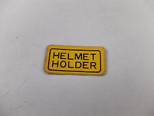 Honda CB100 CB125 S CG110 CG125 CT90 H100 S90 Sticker Decal Helmet Holder NOS