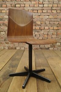 Vintage Pagholz Chair Mid Century Design Child's School 70er Thur Op Seat #5