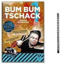 Bum Bum Tschack | Schlagzeugschule + 2CDs, MusikBleistift | D412 | 9783868490008