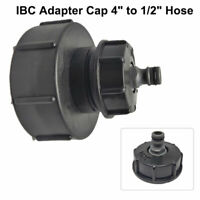 "IBC Tank adapter 4"" 100mm to 2"" 60mm S60X6 1/2"" Hose Pipe Connecter"