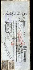 """BEZIERS (34) VINS SPIRITUEUX """"E. VIALLAT & L. BONNAUD"""" en 1900"""