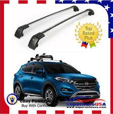 Top Roof Rack Fit 2010 -2017 Hyundai Tucson Baggage Luggage Cross Bar crossbar