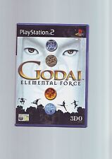 GODAI : ELEMENTAL FORCE - SONY PLAYSTATION PS2 GAME - ORIGINAL & COMPLETE - VGC
