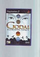 GODAI : ELEMENTAL FORCE - SONY PS2 GAME - FAST POST - ORIGINAL & COMPLETE - VGC