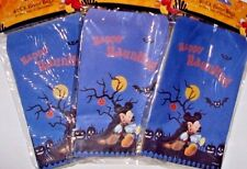 120 Ct HALLOWEEN Disney Mickey & Friends Paper Trick or Treat Bags Party Favors