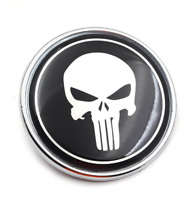 Emblem 82mm Logo Zeichen Abdeckung Plakette Motorhaube Kofferraum Punisher