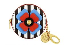 NWT  🌟Henri Bendel Centennial Stripe Bouquet Bag Charm Coin Purse Wallet RARE