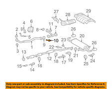 TOYOTA OEM 09-15 Venza 3.5L-V6 Exhaust-Connector Pipe Bolt 90105A0140
