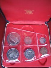 Singapur 1967 prueba 6 Juego De Colección De Monedas De 1 centavos - $1 dólares Royal Mint caso 2
