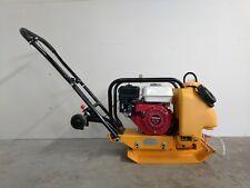 Hoc Hc60 14 Inch Plate Compactor Honda Gx160 5.5 Hp + Water Wheel Kit Warranty