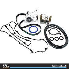 Timing Belt V-Belt Water Pump Kit Valve Cover Gasket For 00-02 Kia Sportage 2.0L