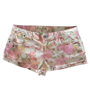 Rue 21 Size 9/10 Floral Mid Rise Shorts