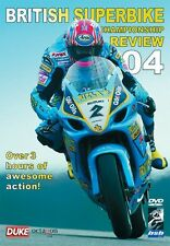 BRITISH SUPERBIKE REVIEW 2004 DVD. BSB. Widescreen. 220 Mins. DUKE Video 1682NV