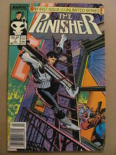 Punisher #1 Marvel Comics 1987 Series Newsstand Edition 9.0 Very Fine/Near Mint