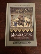 Mouse Guard Labyrinth And Other Stories Free Comic Book Day 2012 Hard Cover NEW