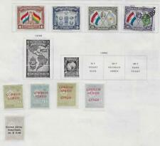 9 Paraguay Air Post Stamps from Quality Old Antique Album