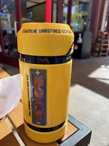 New Disney Parks Monsters Inc. Scream Can Canister Cup Bottle sipper mug w sound