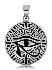 925 solid Sterling Silver Ancient Egypt Eye of Horus Wadjet Ujat pendant