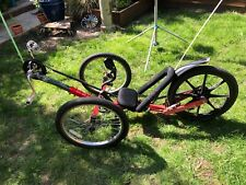 KMX kart 3 wheel Sports Recumbent Trike bike - RED