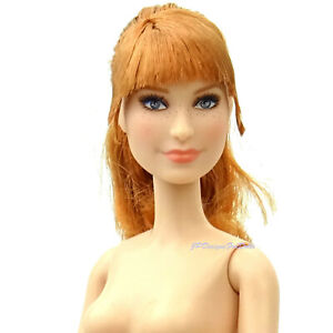 Barbie Signature JurassicWorld Clare Doll Nude  New with Stand